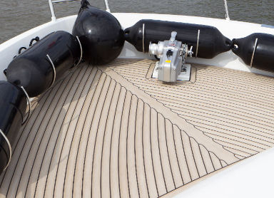 yacht bow decking